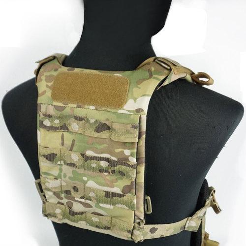 DMGear SS D3 Series Universal Back Plate Lightweight Tactical Vest Chest Rig - MC