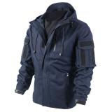 BACRAFT Outdoor Equipment Combat Uniform Tactical Coat for Man - Police Blue