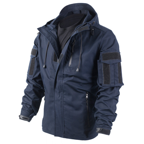 BACRAFT Outdoor Equipment Combat Uniform Tactical Coat for Man - Police Blue