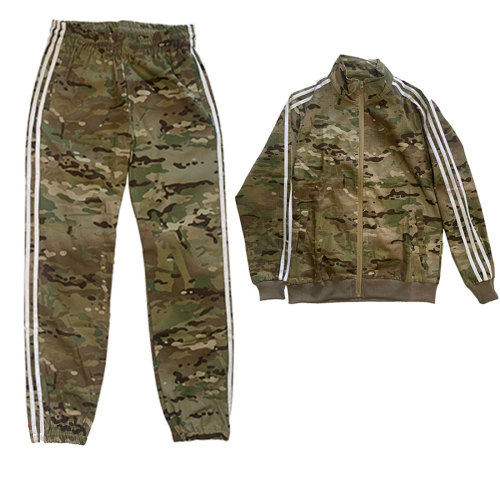 Gopnik Style Tactical Sportswear Full Set Combat Clothes - (Closed Hem Bottom) MC L