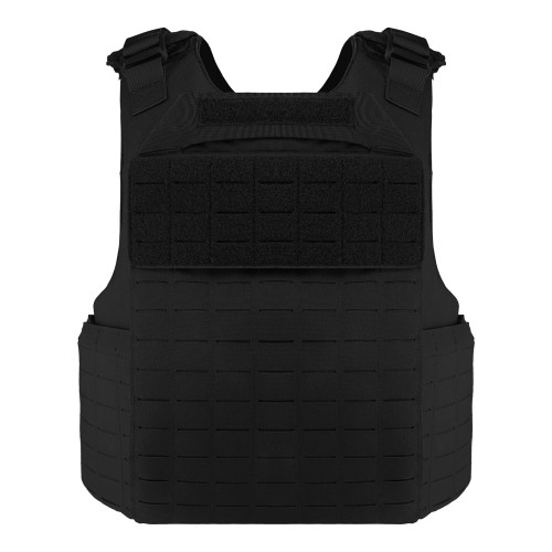 Buffalo Outdoor Wearproof Tactical Vest Anti-stab Tactical Gear Set - Black