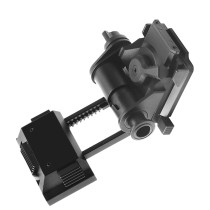 FMA L4G24 NVG Bracket Holder for Tactical Helmet - Black