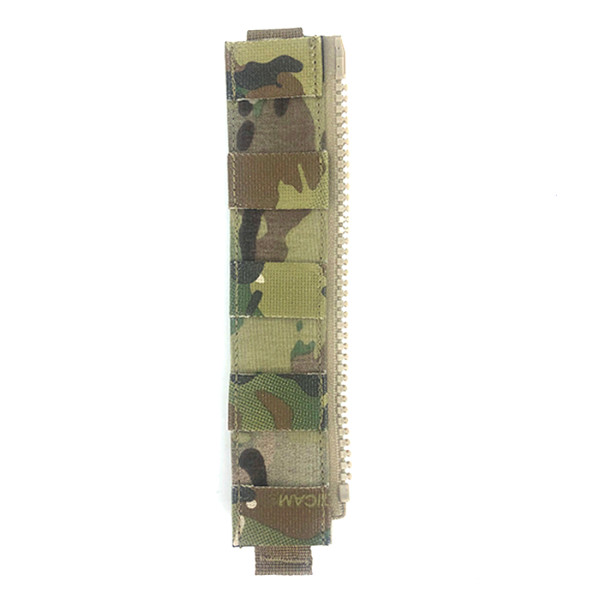 Crye Precision Panel Connector Zipper Tactical Zipper Plate - Multicam