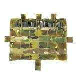 JPC AVS M4 Flat CP M4 Tactical Triple Magazine Panel MOLLE Front Panel