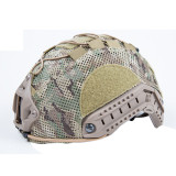 FMA Outdoor Activity Breathability Protective Helmet Cover for L/XL Fast Helmet - Camouflage