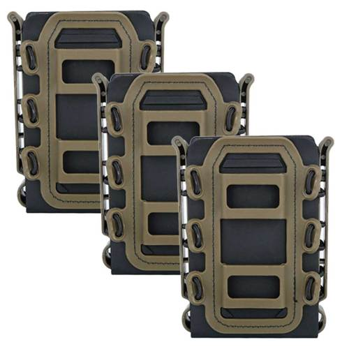 WST Triple Scorpion Fastmag Rifle Mag Pouch -BKT