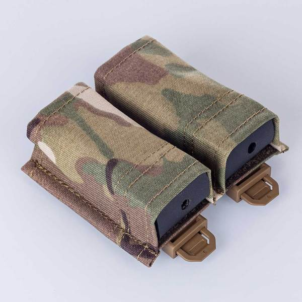 BIGFOOT KYWI  Kydex Wedge Insert Double Pistol  Mag Pouch
