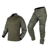 IDOGEAR Tactical G3 Combat Suits With Knee Pads
