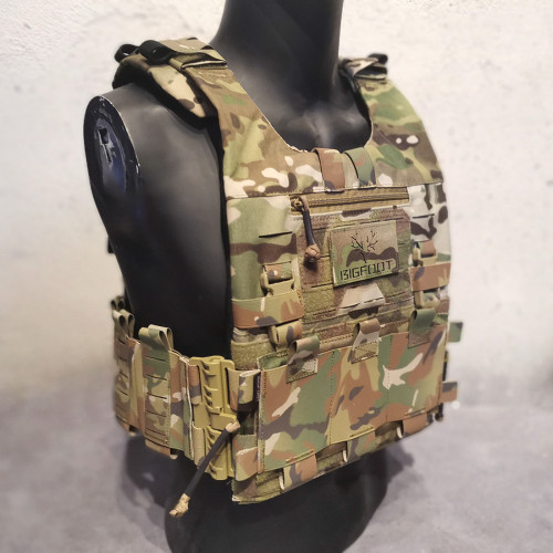 BIGFOOT GTPC Quick Release Lightweight Module Tactical Plate Carrier Vest