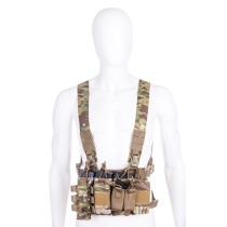 Longrui Light Weight Heavy Duty Utility Training Multi Pocket D3 Carrier Military Chest Rig
