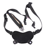 FMA Tactical Helmet Chin Strap Suspension System with Screws - Black