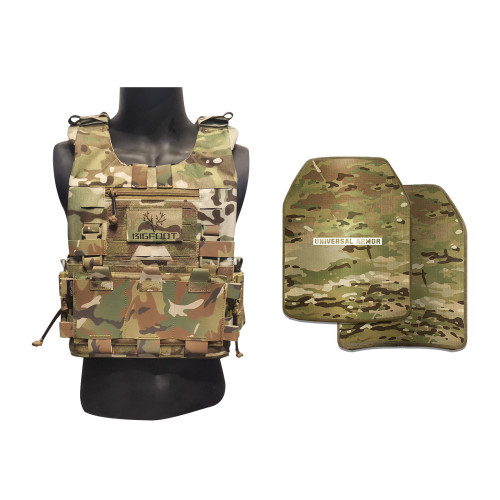 Bigfoot GTPC Lightweight Carrier and UTA NIJ Lever IIIA  Armor Package