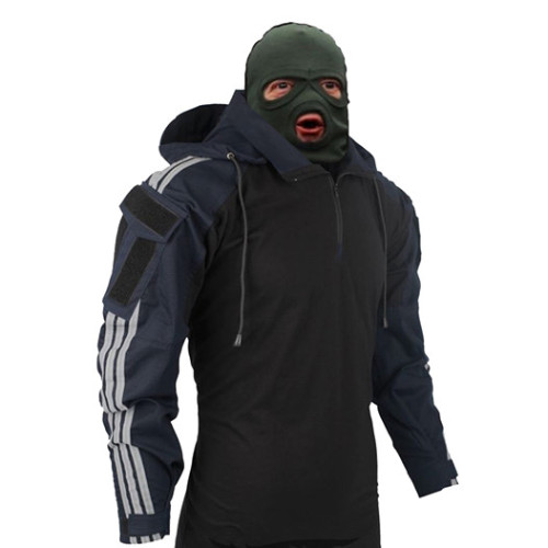 BACRAFT TRN Tactical Hooded Squatting Slav Combat Shirt