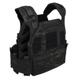 UTA X-RAPTOR Universal Armor Lightweight Plate Carrier Tactical Vest - MC Camo Type