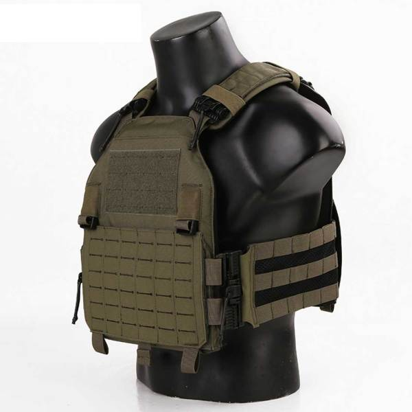 Emersongear W/ROC Laser Cutting MOLLE LAVC Tactical Plate Carrier Vest