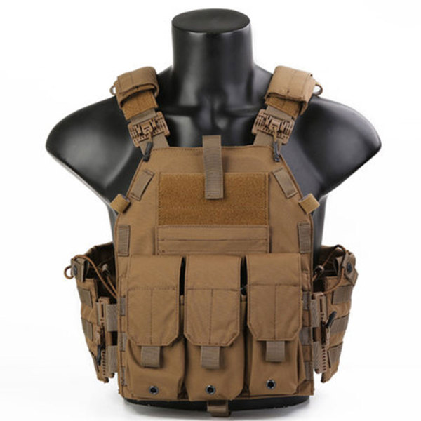 EmersonGear Quick Release Functional 094K Style Tactical Plate Carrier Vest