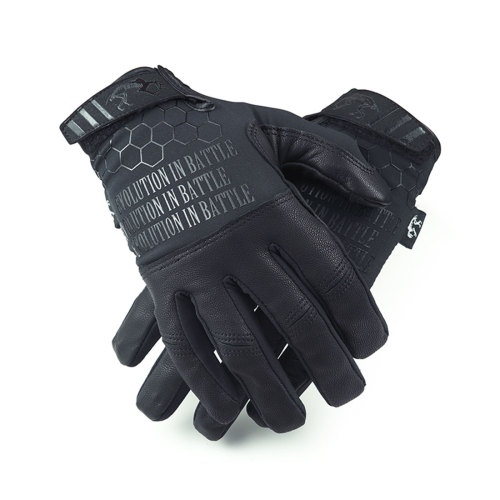 AR Lightweight Tactical Shooting Leather Gloves Combat Training Gloves