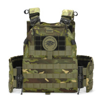 BUCKSGEAR Multifunctional Combat Chest Rig Wargame Protector Military Quick Release Tactical Vest - CP