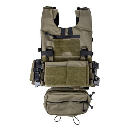 BIGFOOT GTPC2.0 Lightweight Tactical Vest MK3 Chest Rig Belly Bag
