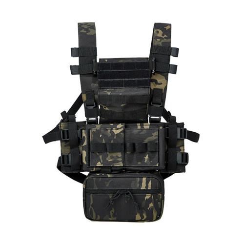 BUCKSGEAR Wargame Multifunctional Lightweight MK3 Tactical Chest Rig Vest