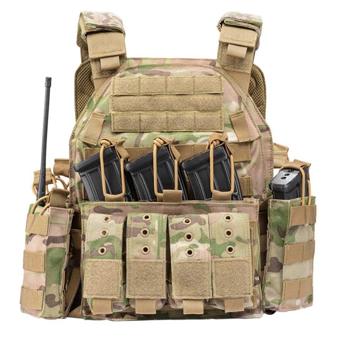 YAKEDA PHANTOM Modular Tactical Vest Plate Carrier Vest