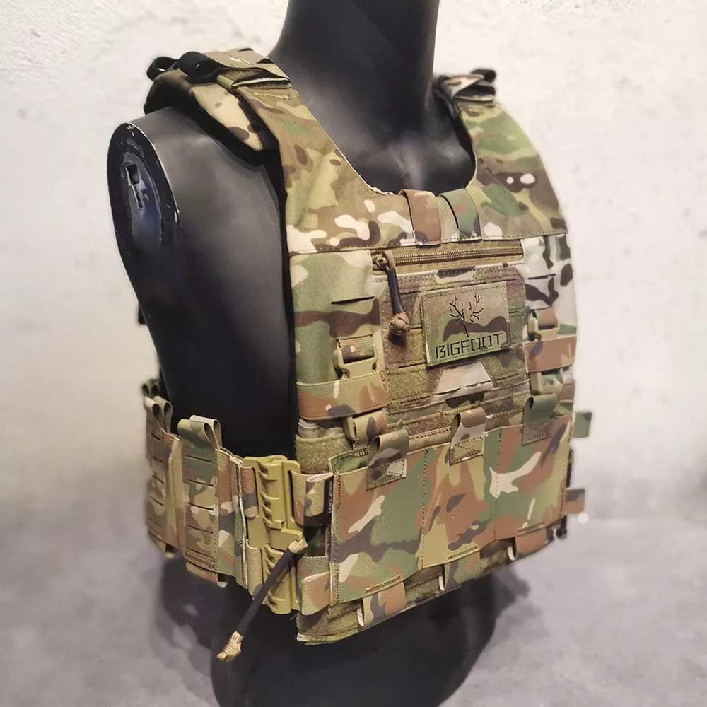 BIGFOOT GTPC Quick Release Lightweight Module Tactical Plate Carrier Vest