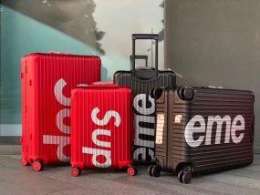 No.1376964 RIMOWA & SUPREME Trolley Case