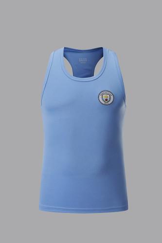 Manchester City Blue Vest