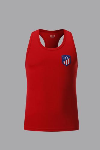 Atletico Madrid red vest