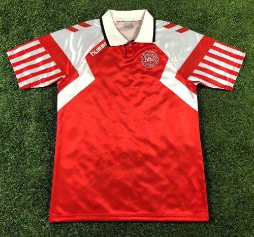 1992 Denmark European Cup Soccer Jersey