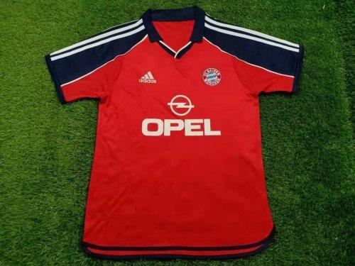 2000/2001 Bayern Munich Champions League Soccer Jersey