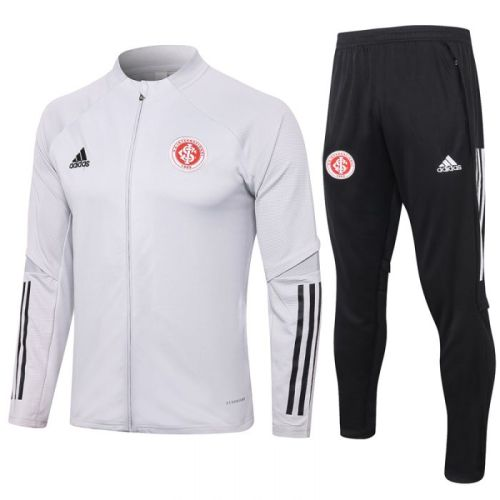 Brazil International Gray 20-21 Jacket Training Suit(Top + Pant)