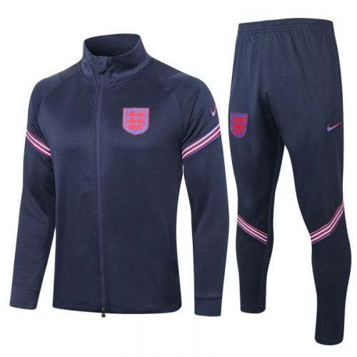 England Royal Blue20-21 Jacket Training Suit(Top + Pant)