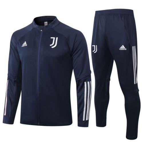 Juventus Royal Blue 20-21 Jacket Training Suit(Top + Pant)