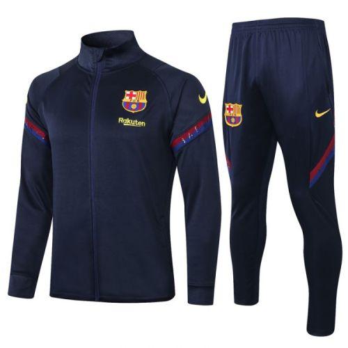 Barcelona Royal Blue 20-21 Jacket Training Suit(Top + Pant)