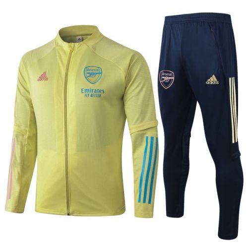 Arsenal yellow 20-21 Jacket Training Suit(Top + Pant)