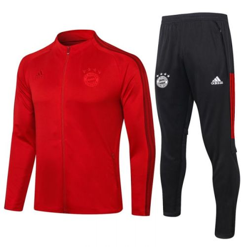 Bayern Red 20-21 Jacket Training Suit(Top + Pant)