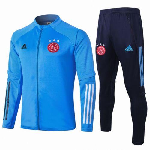 Ajax light blue 20-21 Jacket Training Suit(Top + Pant)