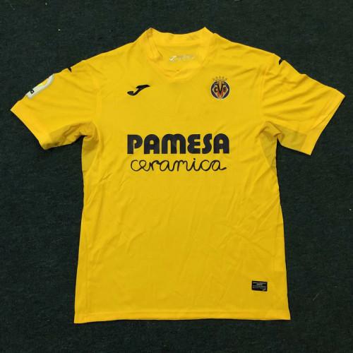 20-21 Villarreal home Soccer Jersey