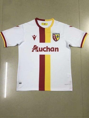 20-21 RC lens white soccer jersey
