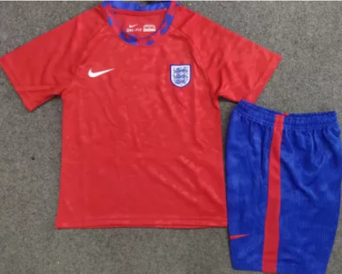 20/21 England training soccer Jersey and short kit