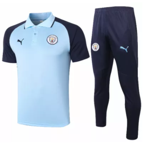 2020-2021 Manchester City Polo Suit