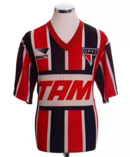 1993 Sao Paulo Away Retro Jersey