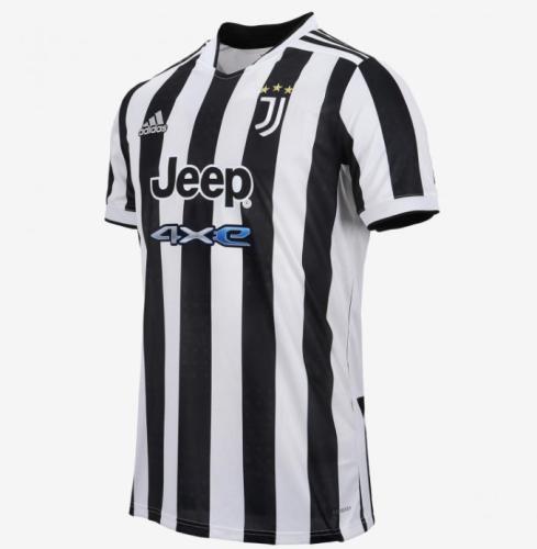 21-22 Thai Version Juventus home soccer Jersey