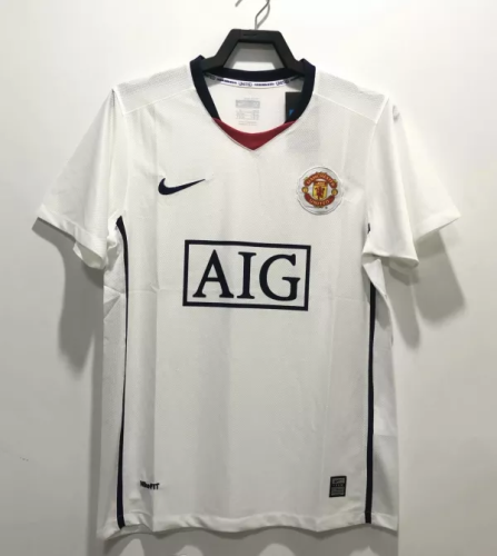 08/09 Manchester United Away Retro Jersey