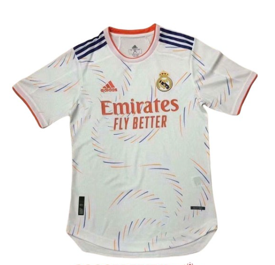 2021 2022 REAL MADRID HOME PLAYER VERSION SOCCER JERSEY SHIRT