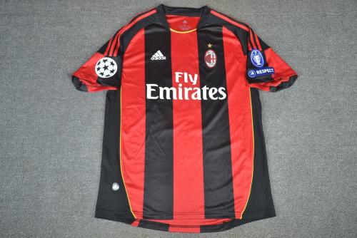 AC Milan 10/11 Home Soccer Jersey