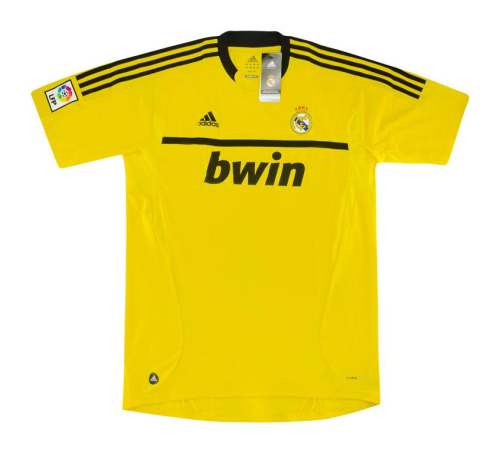 Real Madrid 11/12 GK Yellow Soccer Jersey