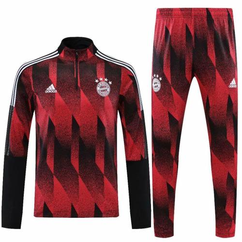 Bayern Munich 20/21 Tracksuit - Black/Red