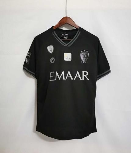 Al-Hilal 21/22 Away Black Soccer Jersey